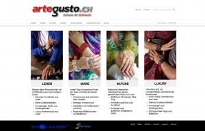 WordPress Webseite Artegusto