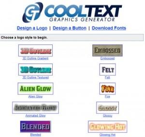 CoolText Grafikgenerator