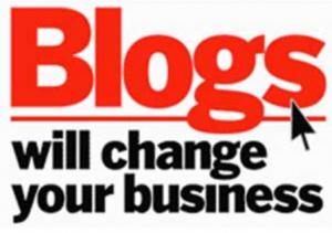 Werbung dank dem Firmen-blog