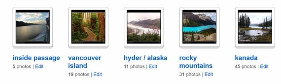 flickr sets