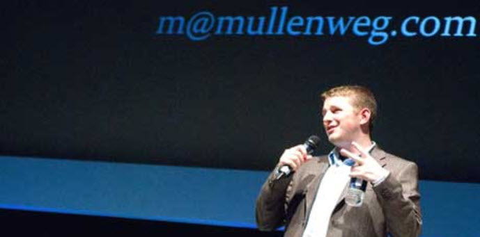 Wordpress CMS Enwickler Mullenweg