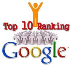 Top 10 Platzierung bei Google