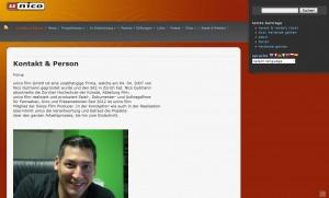WordPress Webseite unico Film