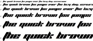 TrueType Font Beispiel