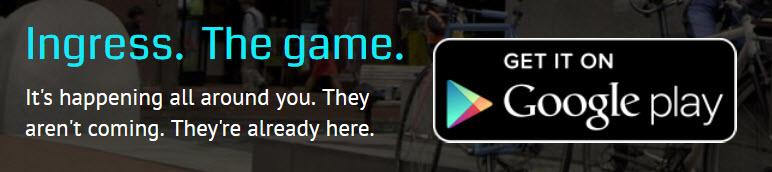 Ingress Augmented Reality Spiel