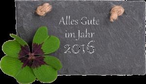 Alles Gute für das Jahr 2016 !